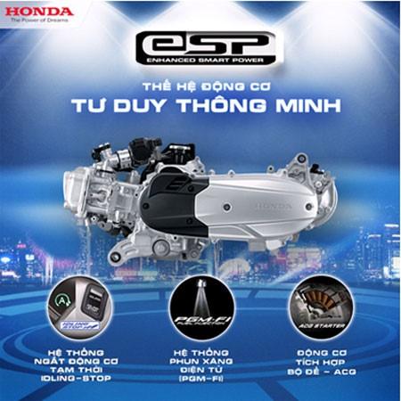 Những công nghệ nổi bật ở động cơ eSP của Honda