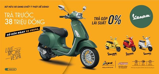 Chương trình khuyến mãi xe Piaggio và Vespa tháng 9.2019 tại Xe Máy Hoàn Phước