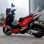 Pega công bố xe máy điện đi 140 km với một lần sạc