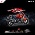 Honda Việt Nam giới thiệu xe côn tay MSX 125cc phiên bản mớ