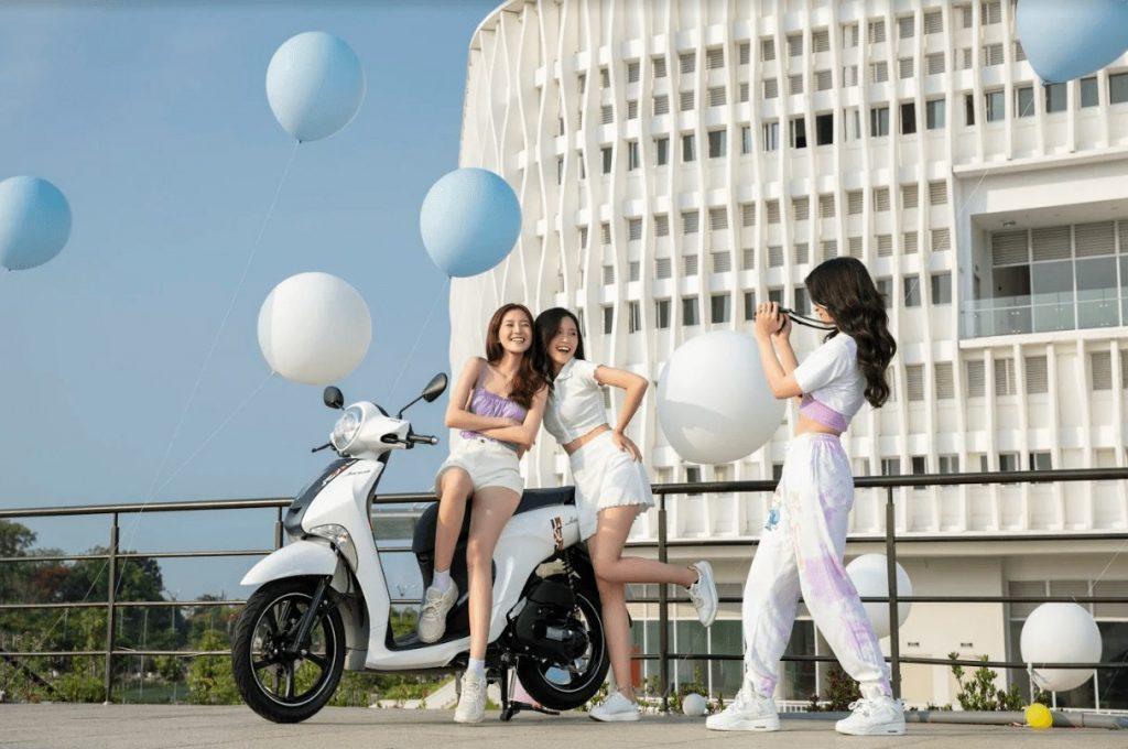 Yamaha Janus có thiết kế trẻ trung, cá tính cùng nhiều công nghệ hấp dẫn