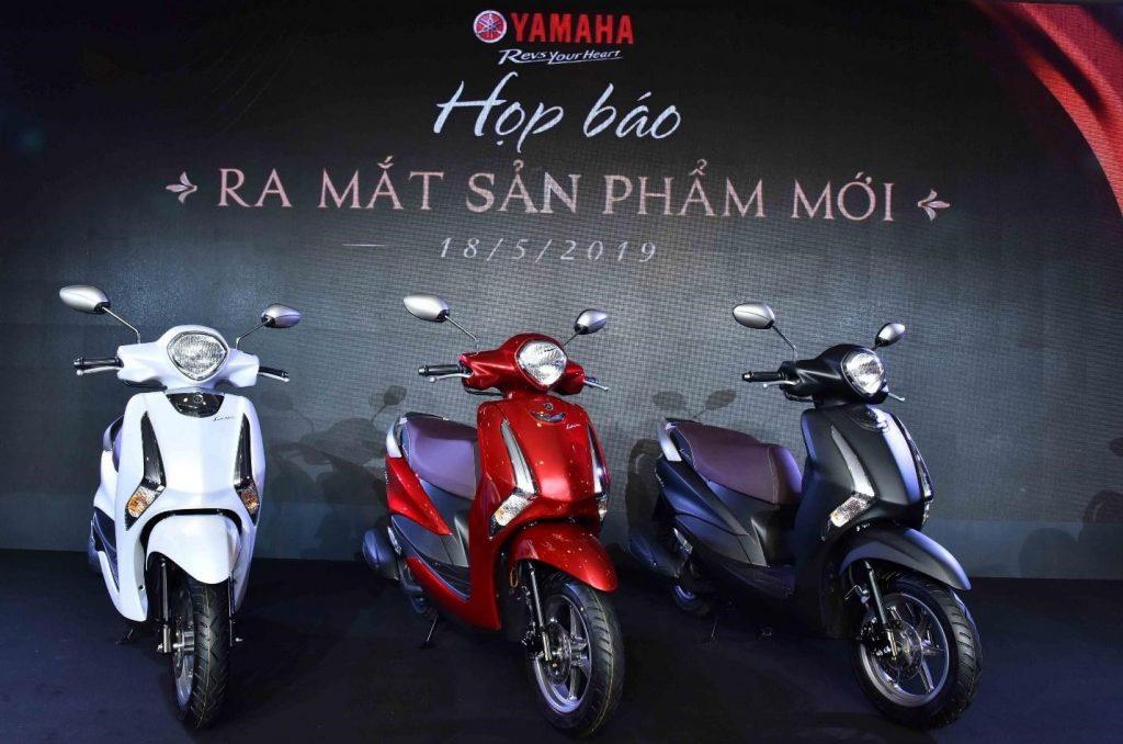 Yamaha Latte là mẫu xe tay ga có kiểu dáng thanh lịch cùng khả năng vận hành êm ái