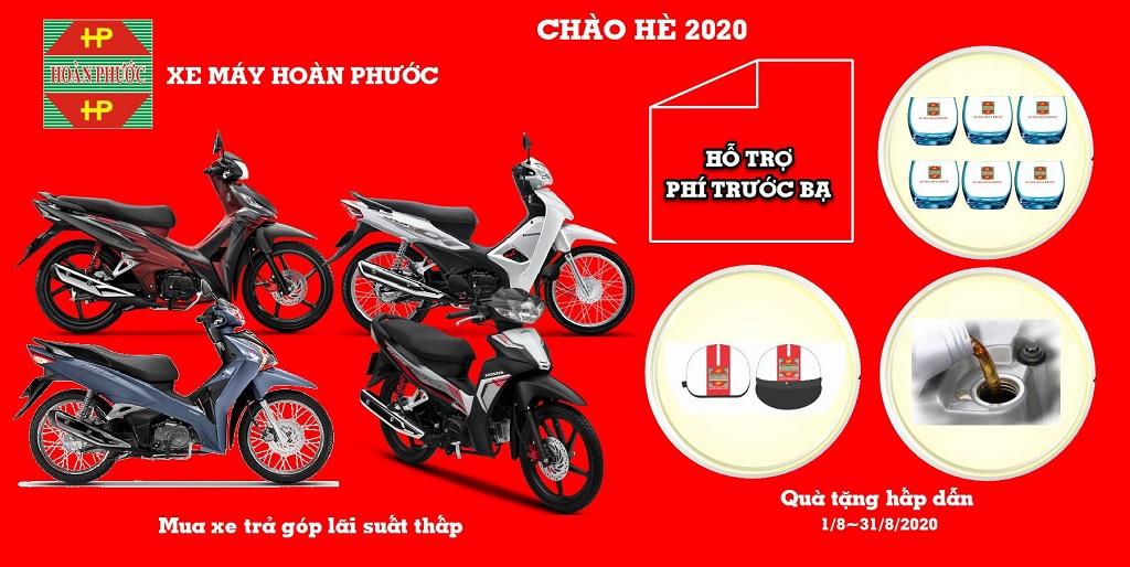 Chương trình khuyến mãi Honda tháng 8.2020 tại Xe Máy Hoàn Phước