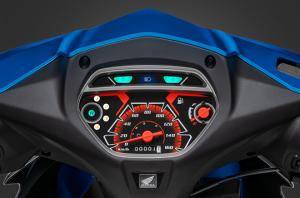 Blade 110cc - Mặt đồng hồ hiện đại
