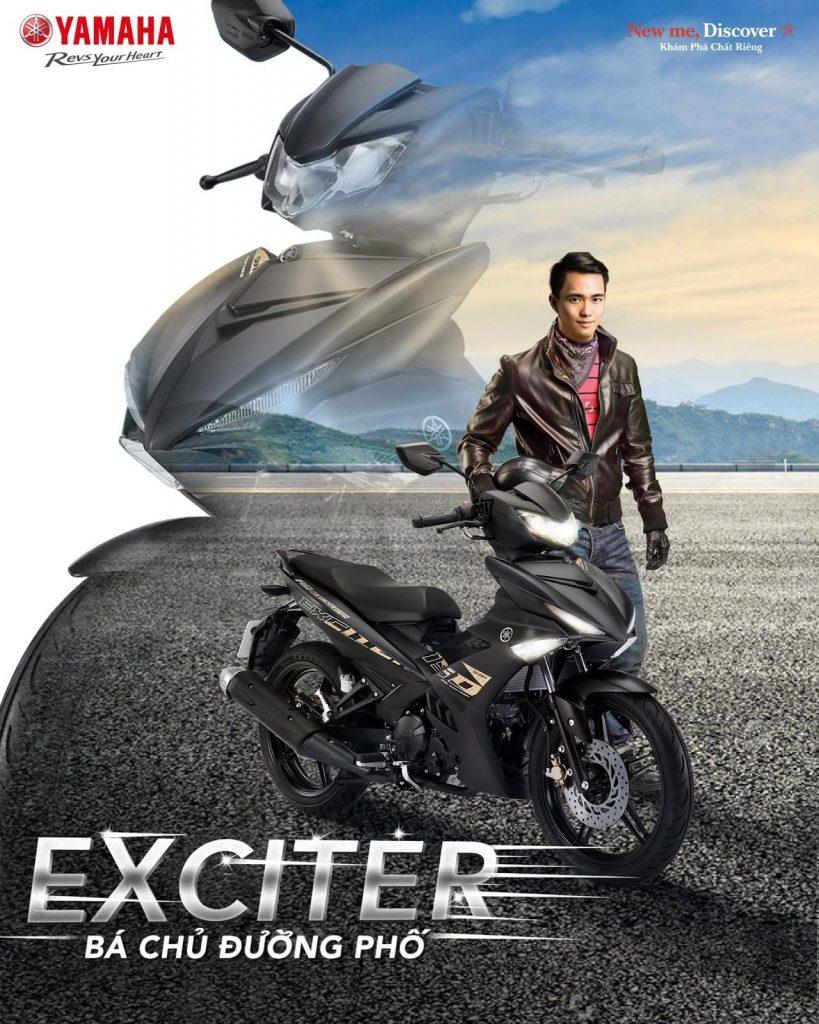 Exciter 150 là mẫu xe côn tay thể thao có thiết kế nổi bật và khả năng vận hành vô cùng bền bỉ