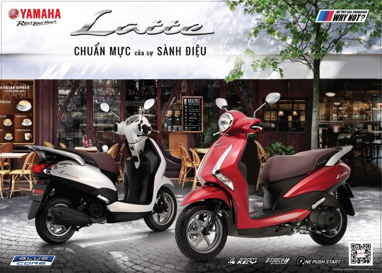 Dù xuất hiện trên thị trường chưa lâu nhưng Yamaha Latte hiện đang được nhiều người tin chọn