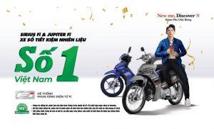 Những mẫu xe số tiết kiệm nhiên liệu nhất chính thức gọi tên thương hiệu Yamaha.