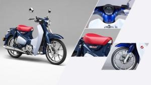 Xe SUPER CUB C125 có thiết kế đồng hồ hình tròn, thể hiện sự tinh tế và cổ điển