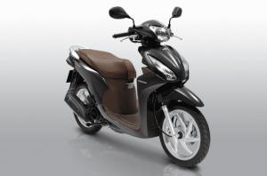 Vision 110cc - đen bóng