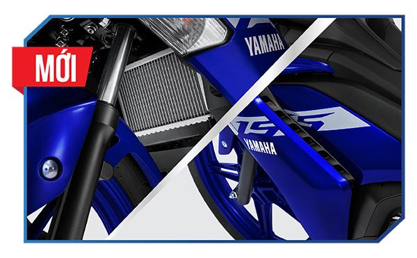 Exciter 155 VVA - Cải thiện khả năng tản nhiệt và làm mát