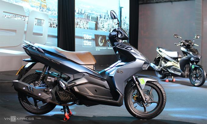 Những lựa chọn xe máy giá 50-60 triệu đồng