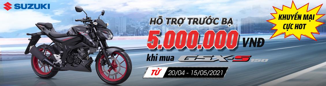 KHUYẾN MẠI ĐẶC BIỆT CHO GSX-S150